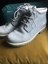Baby Blue Vintage Timberland Boots Four Eyelet Size 5
