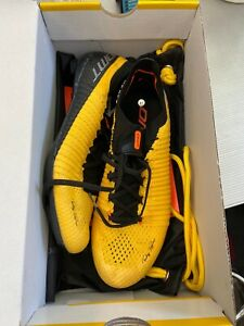 DMT KR TDF Tadej Pogacar Road Cycling Shoes - Yellow - Size 41