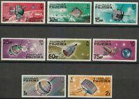 Fujeira 1966 MNH Mi 70-77 Satellites.Lunik.Tiros.Ranger.Space **