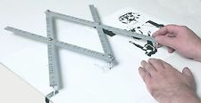 """Jakar 18"""" Artists Wooden Pantograph Drawings Enlarges Reduces Rescales Images"""