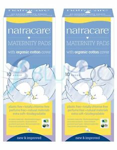 Natracare New Mother Maternity Pads - 10 Pieces (Pack of 2)
