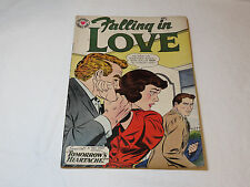 National Romance Group Falling in Love #36 1960 August Comic RARE vintage#%