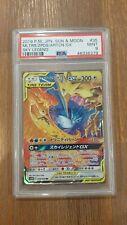 PSA 9 Pokemon Japanese Sun & Moon Moltres Zapdos Articuno GX Sky Legend