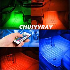 RGB 36 LED Glow Car Interior Lamp Under Dash Footwell Seats Inside Lighting USB