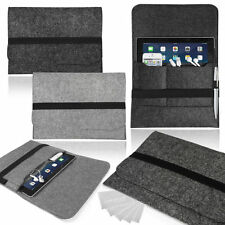 Stylish Felt Sleeve Case, Cover, Pouch, Bag for Tablets (Various Models)