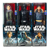 "Hasbro Star Wars Rogue One 12"" Death Trooper Captain Cassian Jyn Erso Lot Of 3"