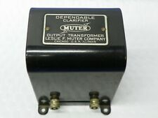Vintage Muter Dependable Clarifier Output Transformer
