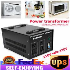 5000W Voltage Converter Transformer High Power Step Up/Down 110V-220V Sale!