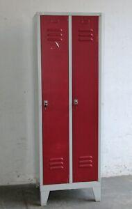 Spind Stahlspind Metallspind Umkleidespind - Vintage Loft Industrie Design #B894