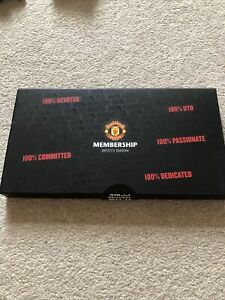 Manchester United Membership Pack With Pen And Badge 2012/13