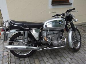 Motorrad Oldtimer BMW R 50/5, sehr guter Zustand, viele Neuteile , Rarität
