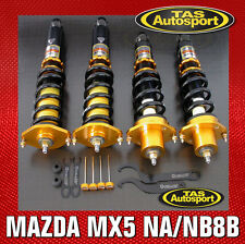 YELLOW-SPEED COILOVERS SUSPENSION MAZDA MX5 NA6 NA8 NB8A 89-00