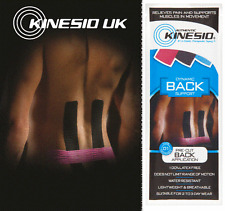 KINESIO Pre Cut Tape - Kinesiology tape for BACK injuries & support. FREE POST