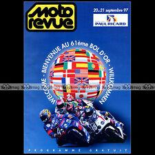 PROGRAMME ★ BOL D'OR 1997 ★ Circuit Paul Ricard / COURSE ENDURANCE MOTO #P021