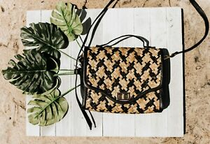 Rattan Bag Straw Beach Bag Shoulder Bag