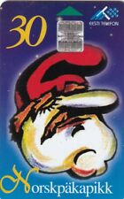 ESTONIA ,,CHIP PHONECARD USED, CHRISTMAS
