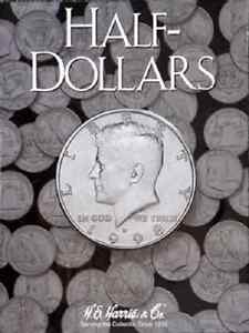Kennedy Half Dollar Plain Folder, Any Date by H.E. Harris