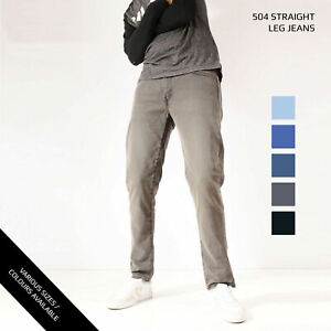 Vintage Levis 504 Jeans Jambe Droite Jeans Grade A W28 W30 W32 W34 W36 W38