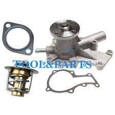 New Water Pump with Thermostat & Gasket for Kubota D722 Engine