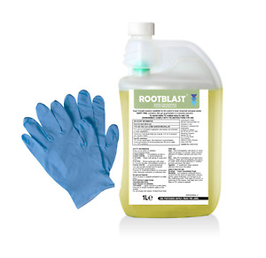 Rootblast Industrial Strenght Weedkiller Glyphosate 360g/l 1L makes up to 50L