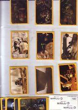 LOTTO FIGURINE STICKER ALBUM FILM MOVIE DISNEY-WALL eve,shelby,toy story,up,cars
