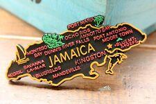 Jamaika Reiseandenken Reise Souvenir Gummi Rubber Kühlschrank Magnet Geschenk
