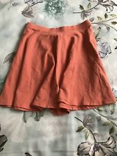 FOREVER 21 ~ Peach Skater Skirt ~ Size M ~ New With Tags