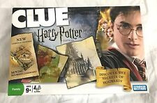 Clue Board Game Harry Potter Edition 2008 100% Complete Rare