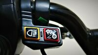 Kugoo G Booster Electric Scooter Dual / Single Motor Switch Button Gel Overlay