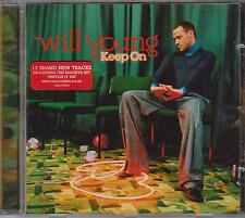 WILL YOUNG - KEEP ON  - CD -  NEW -