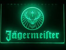 Jagermeister LED Neon Bar Sign Home Light up Pub Beer Lager jagerbomb jager bomb