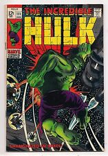 INCREDIBLE HULK #111 1969 VF HIGH GRADE - Hulk in Outer Space