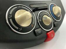 Zum Nissan Micra K12 02-10 Aluminium Ringe für Lüftungsregler Heizungsregler x3