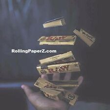 RAW Rolling Papers TOSS UP BUNDLE (2 packs King Size)+(3 pks 1 1/4 )+( 3 X Tips)