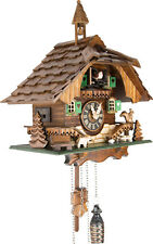 German Cuckoo Clock Quartz-movement Chalet-Style 31cm by Engstler