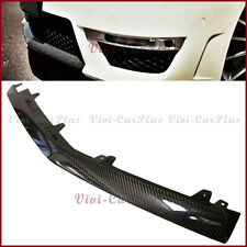 Carbon Fiber Front Center Bumper Spoiler Lip For 12-14 W204 C204 C63AMG 2DR 4DR