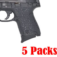 Pack of 5 Grip Extension fits Smith and Wesson 9mm/.40 CAL - M&P Shield 5 PCS