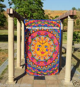 Twin Sun N Moon Tapestry Indian Wall Hanging Bohemian Urban Bedding Throw Hippie