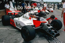 NIKI LAUDA McLaren MP4/2 F1 Stagione 1984 foto 3