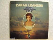 """★★ 12"""" DLP - ZARAH LEANDER - Der Wind Hat Mir Ein Lied Erzählt - ODEON  A-1/B-1"""