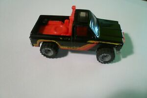 1979 Hot Wheels Real Riders Henry's Hauling Black Truck Goodyear Tires - clean