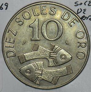 Peru 1969 10 Sols Fish animal 196682 combine shipping