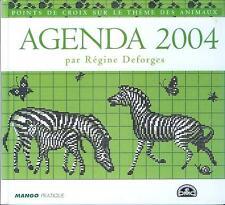 oop DMC Mango 2004 Agenda. French cross stitch. point de croix