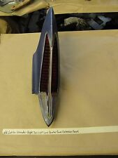 68 Cadillac Eldorado RIGHT TAIL LIGHT QUARTER PANEL EXTENSION BEZEL (PASS SIDE)