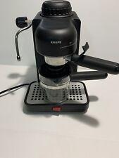 KRUPS ESPRESSO MINI COFFE MAKER 4 CUP CAPACITY 963/A BLACK