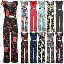 Unbranded Viscose Floral Jumpsuits & Playsuits for Women