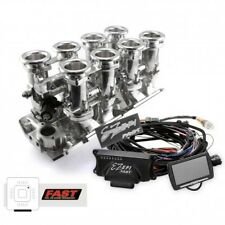 Big Block Chevy 8 Stack Hilborn Style EFI Fuel Injection With ECU-Fuel Pump-Plus