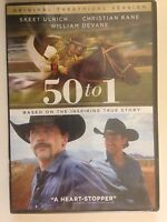 50 to 1 (DVD, 2015) Skeet Ulrich, Christian Kane, Based on a True Story