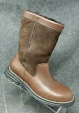 """UGG Womens """"Brooks"""" 5381 Sheepskin Boots Brown Leather Size 6 EUR 37"""