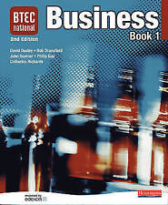 BTEC National Business Book 1 2nd Edition by Phil Guy, Catherine Richards...